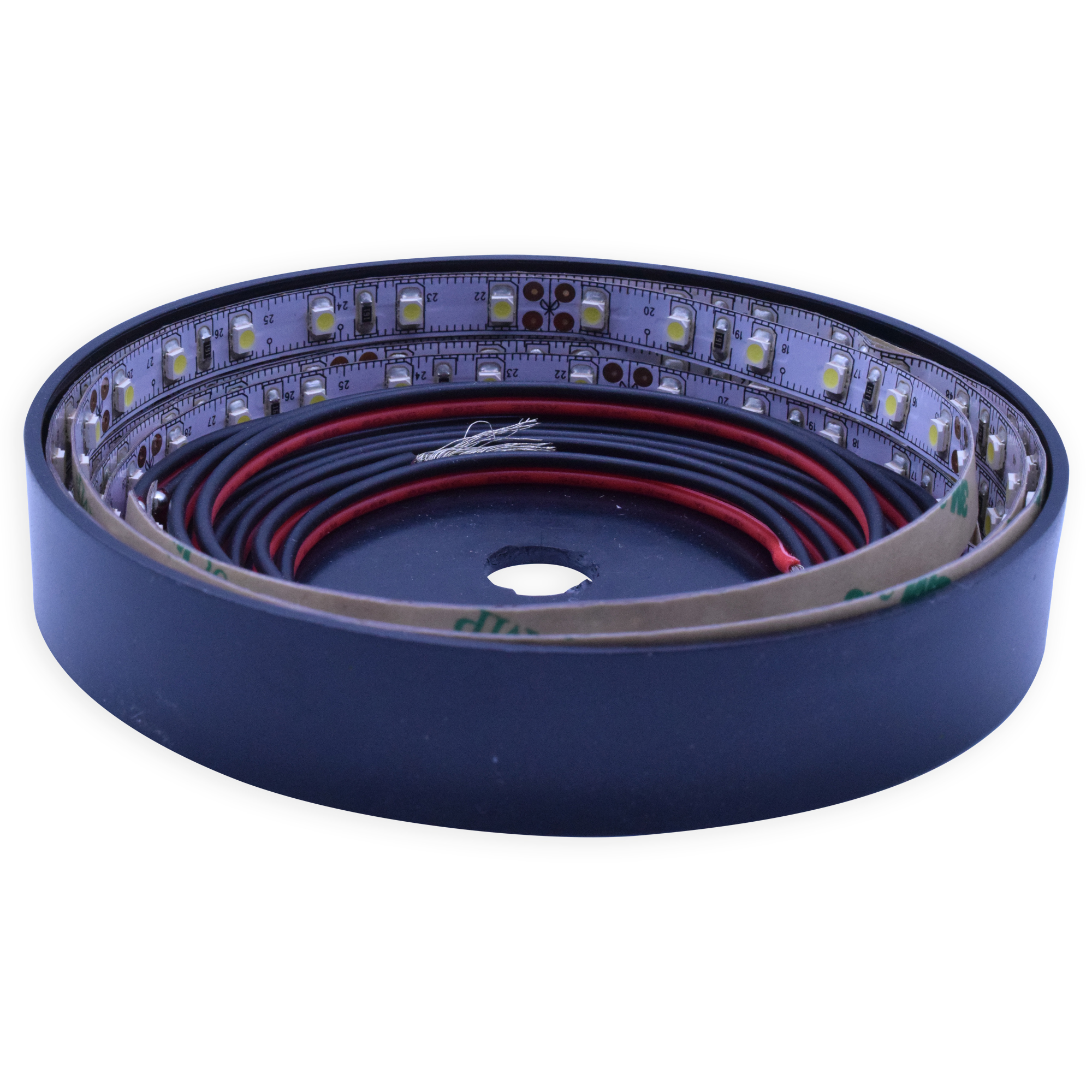 LED Ribbon strip warm wit 24V/8W 84 LED's