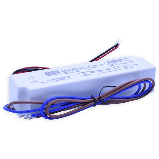 Led driver 230V/12V - LPV60-12 / 60Watt