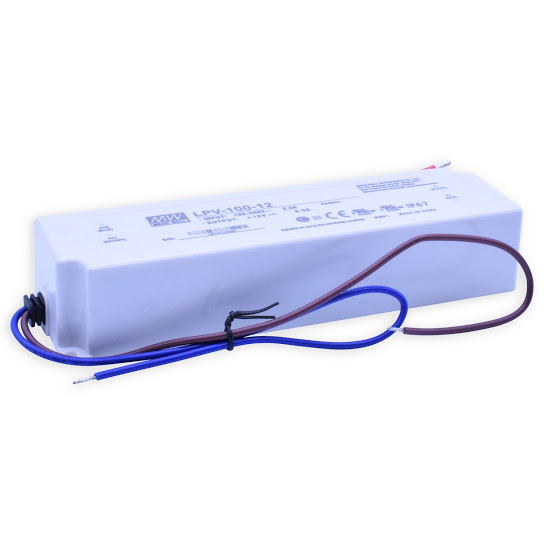 Led driver 230V/12V - LPV100-12 /100Watt
